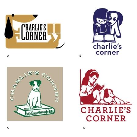 Branding design case study for Charlie's Corner