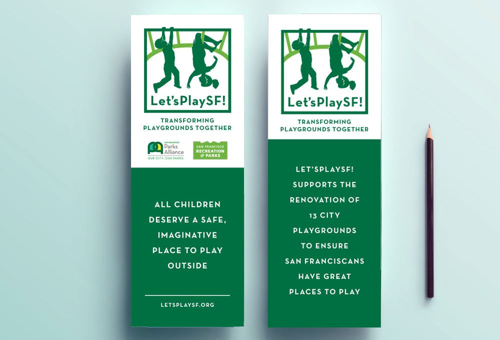 design for Parks Department and nonprofit fundraiser